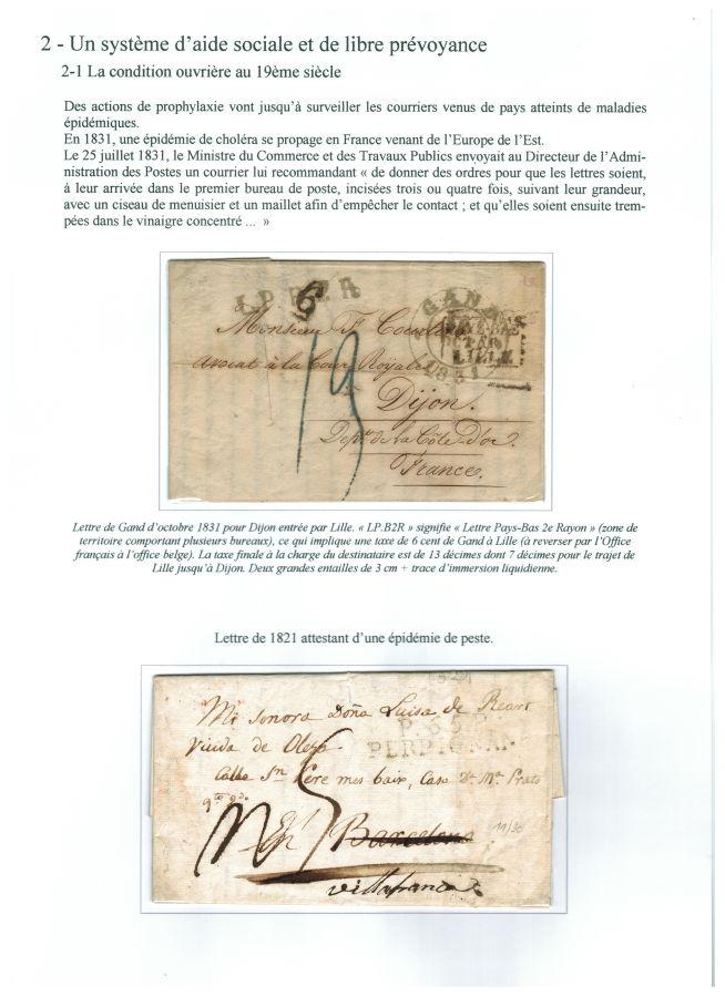 En 1831, une épidémie de choléra