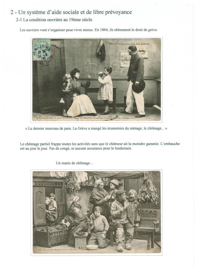 En 1864, droit de grève (et chômage partiel)