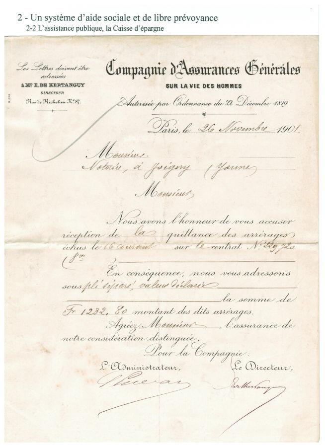 Compagnie d'Assurances Générales sur la vie des hommes (1901)